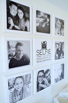 Instagram wall - Instagram is life and selfies are the ultimate in self expression. Let your teen showcase their friends in a fun way with this selfie wall. Choose their favorites then upload images to Shutterfly or a similar website and print 5×7s for as low as 99 cents.