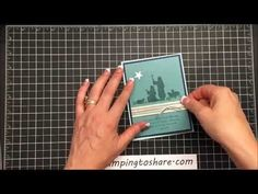 Stampin' Up! Every Blessing Religious Christmas Card - YouTube