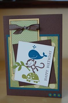 Stampin'spiration: Fox and Friends