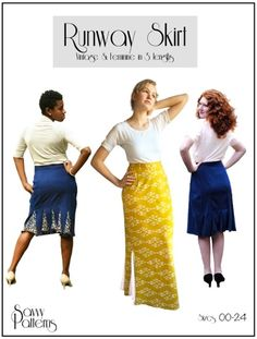 Audrey from Skirt Fixation has launched her new sewing pattern shop - Savvy Patterns! Included in the launch is this beautiful vintage inspired knit Runway Skirt that is completely customizable to fit your needs. Read more and see tester inspiration images paired with perfect Girl Charlee knits today at blog.girlcharlee.com