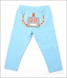 Kids Robot Leggings