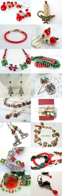 Christmas with the Jets by Mollie Ann Meserve on Etsy--Pinned with TreasuryPin.com #jewelryonetsy #boebot