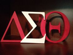 Delta Sigma Theta Sorority Sign. $35.00, via Etsy.