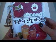 Farmhouse Recipe Mini Album ~MCS~