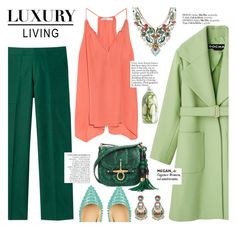 """""""luxury living"""" by punnky ❤ liked on Polyvore featuring Chelsea Flower, Christian Louboutin, Ayala Bar, Gucci and Anja"""