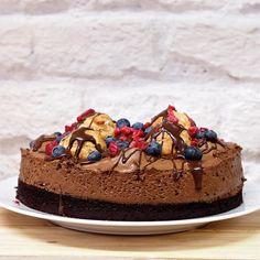 Laskominy od Maryny: Dort s čokoládovou pěnou a větrníčky
