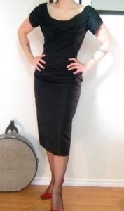 pinup wiggle dress!