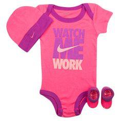 Infant Nike Watch Me Work 3-piece Set | Finish Line
