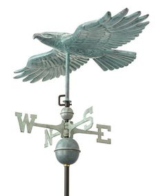 Take a look at this Good Directions Hawk Weathervane by Backyard Oasis Boutique on #zulily today!