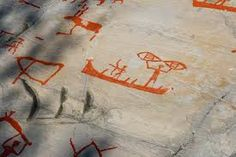 the Alta rock carvings, Finnmark, Norway Holiday Destinations, Travel Destinations, Places Around The World, World Heritage Sites, Rock Art, Archaeology, Travel Inspiration, Stuff To Do, Carving