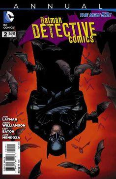 Batman Detective Comics DC Comics Annual Issue VF/NM for sale online Batgirl, Catwoman, Nightwing, Dc Comics, Batman Comics, Comic Book Covers, Comic Books Art, Comic Art, Bob Kane