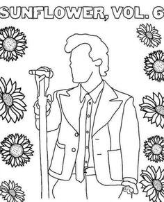 Harry Styles Dibujo, Harry Styles Drawing, Harry Styles Face, Harry Styles Pictures, Harry Edward Styles, Arte One Direction, One Direction Drawings, Colouring Pages, Coloring Sheets