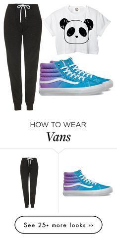 """#46"" by emm-n-m on Polyvore featuring Topshop and Vans"