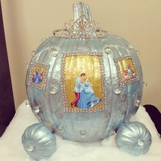 "77 Likes, 6 Comments - Katlyn Parker (@katlynparker21) on Instagram: ""Abigail's Cinderella pumpkin that we have worked on for the past 4 days! I am IN LOVE!…"""