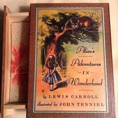 Alice In Wonderland Book Jewelry Box - Lewis Carroll Alice In Wonderland Box…