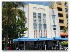 Ocean Drive The Cavalier Hotel. Original Art Deco motifs from Miami Art Deco, Examples Of Art, Ocean Drive, Pedestrian, South Beach, Cavalier, Gta, Original Art, Street View