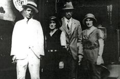 Photo of Jimmie Rodgers and the Carter Family, 1931