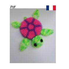 Creative Bubble, Crochet Necklace, Bubbles, Etsy, Character, Turtle, Tutorials, Crochet Collar, Vw Beetles