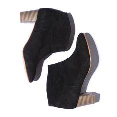 ac87ae24e71 Bottines Arsène noires en chèvre velours - Chaussures - Collection éphémère  - Eshop