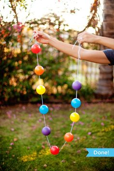 If you're looking to add a big pop of color to a kids birthday party, I've got a fun project for you that's surprisingly easy and budget-friendly! You know