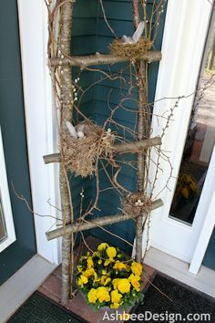 Ashbee Design: Birds Nest Ladder for the Entry