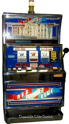 free 5 line slots red white and blue 5 line