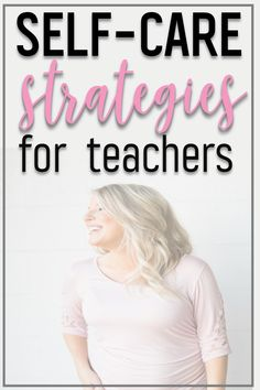The school year may just be starting, but its important for teachers to focus on their self-care every day. From spending time outdoors to pampering yourself, discover strategies from Teaching on Less. Teacher Organization, Teacher Hacks, Teacher Stuff, Teacher Blogs, First Year Teachers, New Teachers, Phonics Games, Science Lessons, Wellness Tips