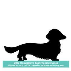dacshund long hair stencil dacshund long hair stencils dog