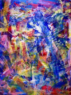 "Saatchi Art Artist Nestor Toro; Painting, ""Double refraction (Birefringence)"" #art"