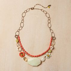Peruvian Opal Necklace, $95, now featured on Fab. By Elements Jill Schwartz.