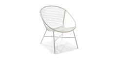 Sala White Lounge Chair - Lounge Chairs - Article | Modern, Mid-Century and Scandinavian Furniture