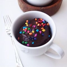 """Fudgy Nutella® Mug Cake   """"I'm going to give this 5 stars because it is the BEST microwave cake I have ever tried."""""""