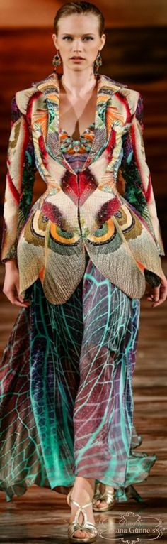 Insecta Mirabilis collection by Hendrik Vermeulen Evening Dresses, Prom Dresses, African Design, Colorful Fashion, People Like, Sari, Bohemian, Luxury, Stylish