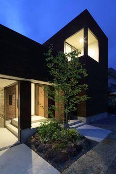 Casas de estilo minimalista por arakawa Architects & Associates