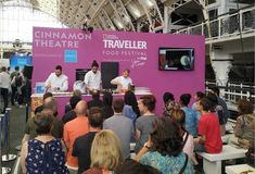 Successful participation of the Region of Attica in the National Geographic Traveller Food Festival in London - Travelling News Courtyard Hotel, Sustainable Tourism, Marriott Hotels, Online Travel, Tour Operator, Food Festival, Event Venues, Business Design, Kitchens