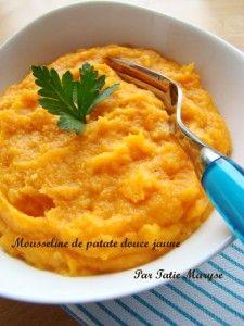 recette purée patate douce antillaise
