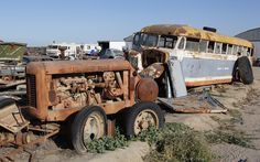 Junk Yards And Rusty Stuff On Pinterest Abandoned Cars