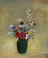 Trademark Fine Art 'Large Green Vase With Mixed Flowers' Canvas Art by Odilon Redon, Size: 24 x Brown Framed Wall Art, Canvas Wall Art, Vase Vert, Georgia O'keeffe, Flower Canvas Art, Odilon Redon, Google Art Project, Grands Vases, Green Vase