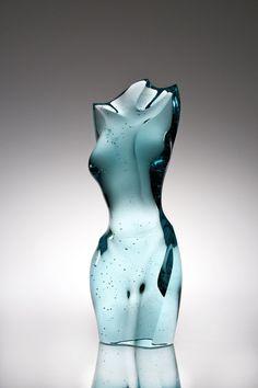 Art | アート | искусство | Arte | Kunst | Sculpture | 彫刻 | Skulptur | скульптура | Scultura | Escultura | Peter Bremers Nude II, 2010Glass