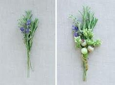 wedding flowers with herbs - Google Search