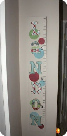 Do it yourself growth chart