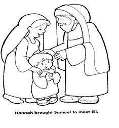 Hannah Brought Samuel To Eli