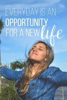 Every day is an opportunity for a new life. --Rhonda Byrne #quote