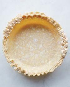 Homemade Pie Dough- Martha Stewart