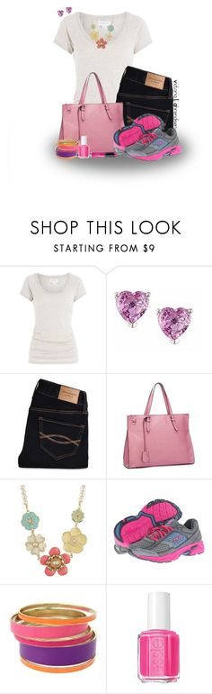 """""""Outfit Set #33! :-)"""" by vahrendsen1988 ❤ liked on Polyvore featuring Velvet, Anika and August, Abercrombie & Fitch, Fila, Lipsy, Essie and Revlon"""