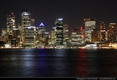 Skyline seen from Kirribilli @ Night, Sydney, Australia