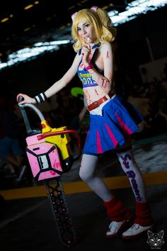 Juliet Starling - Lollipop chainsaw by Kuroi Zetsubo, Photography by Lucas clemente - the foxxx  - Japan Expo 2015 -