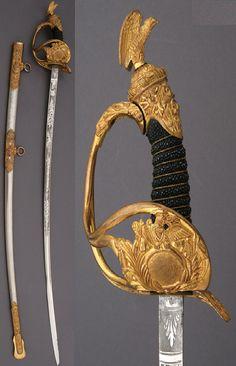 149. U.S. Model 1872 High Grade Presentation Cavalry Officer's Sword