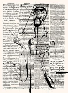 Loving sketches over text.  János Kass
