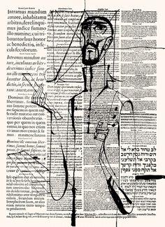 Loving sketches over text.  János Kass